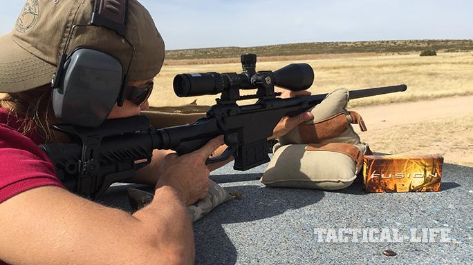 Savage 10 BA Stealth rifle test