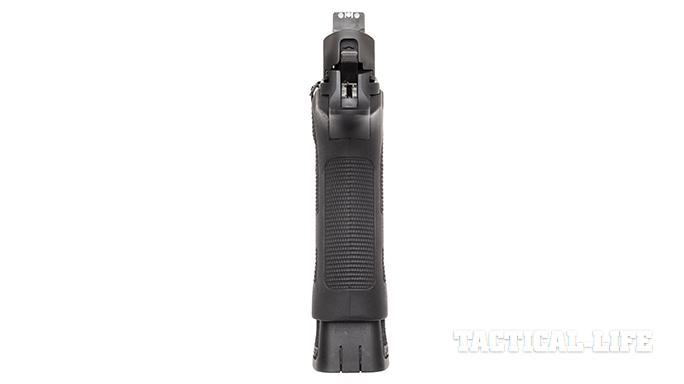 Sig P227 TACOPS pistol rear sight