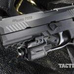 sig sauer p320 pistol left angle