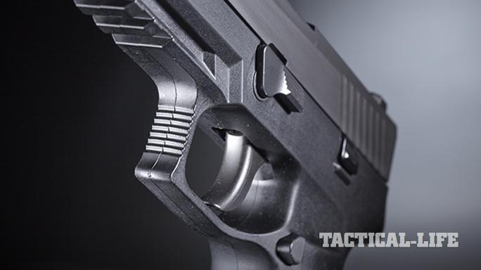 sig sauer p320 pistol trigger Dallas PD
