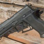 sig P320 voluntary upgrade left angle pistol