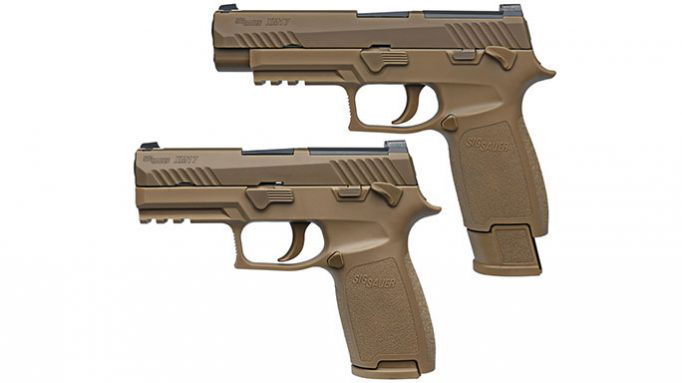 sig P320 voluntary upgrade pistol XM17