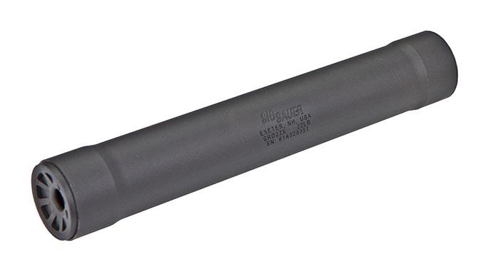 Sig Sauer SRD22X new suppressor