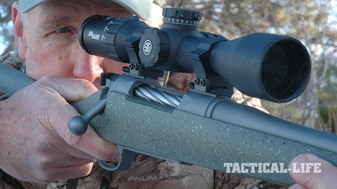 sig sauer whiskey5 riflescope gun test