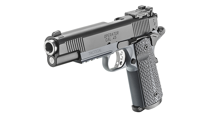 Springfield TRP Operator pistol left angle