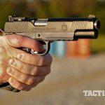 Springfield TRP Operator pistol firing