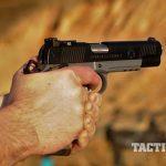 Springfield TRP Operator pistol rear angle