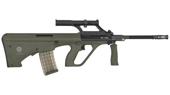 Steyr STG 77 rifle right profile
