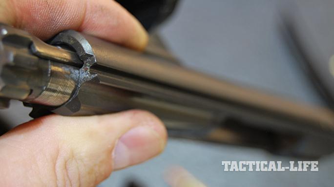 Steyr STM-556/RS-556 rifle barrel angle