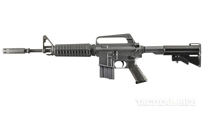 Troy XM177E2 rifle left profile