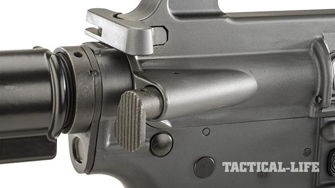 Troy XM177E2 rifle forward assist
