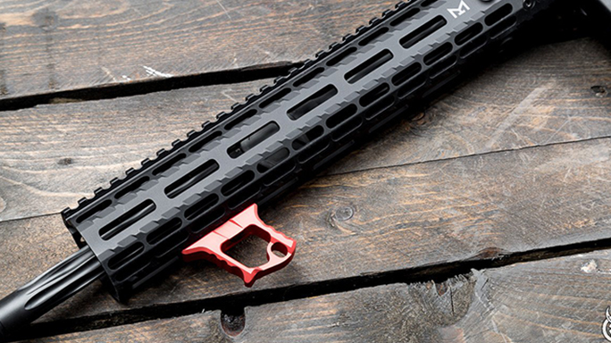 tyrant halo ar handstop attached red