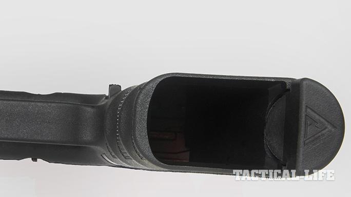 Vickers Tactical Glock 19 pistol empty mag well