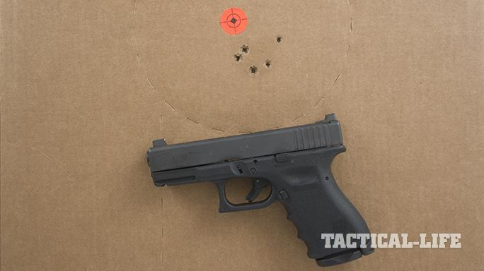 Vickers Tactical Glock 19 pistol grouping
