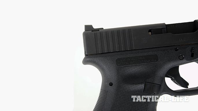 Vickers Tactical Glock 19 pistol slide serrations