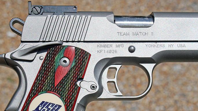 Dropped Gun Inertia Discharge Kimber