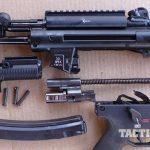 HK SP5K pistol field-stripped