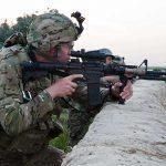 Interim Combat Service Rifle M4 carbine Afghanistan 7.62 rifle