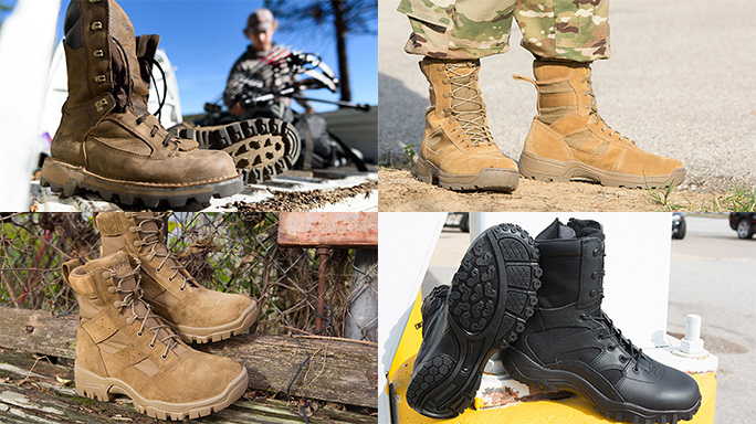new boots for tactical operations