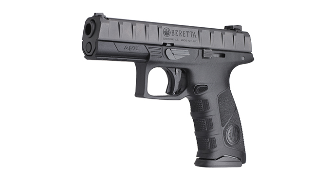 Police Handgun Sidearms Beretta APX left