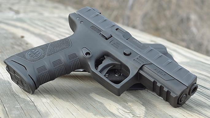 Police Handgun Sidearms Beretta APX right