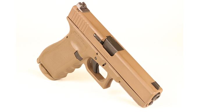 Police Handgun Sidearms Glock 17 right