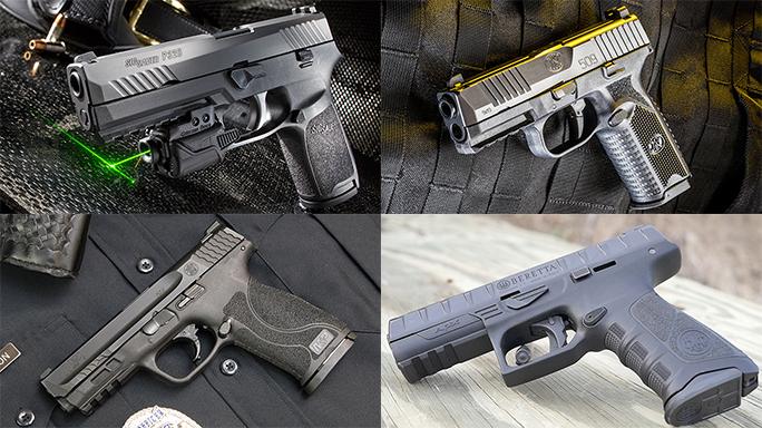 Police Pistol Sidearms 2017