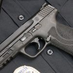 Police Handgun Sidearms Smith & Wesson M&P 2.0 left