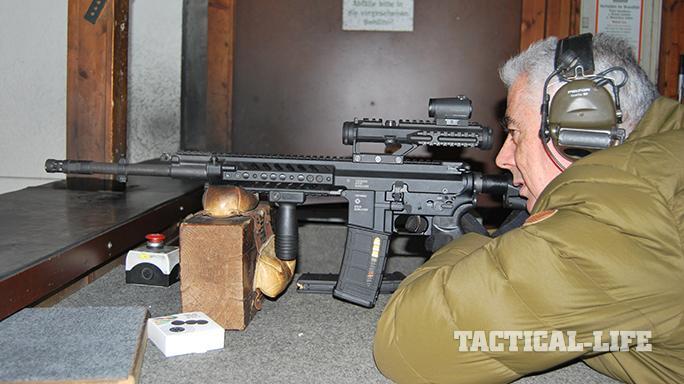 Steyr STM-556 rifle test