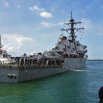 us navy ship john s mccain collision