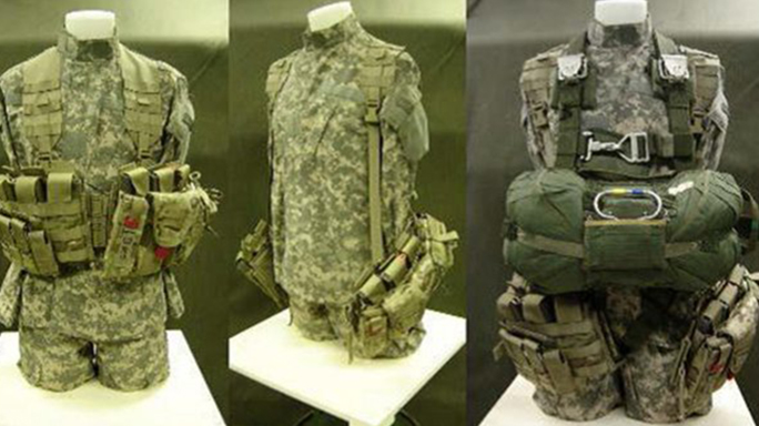army paratroopers new combat load