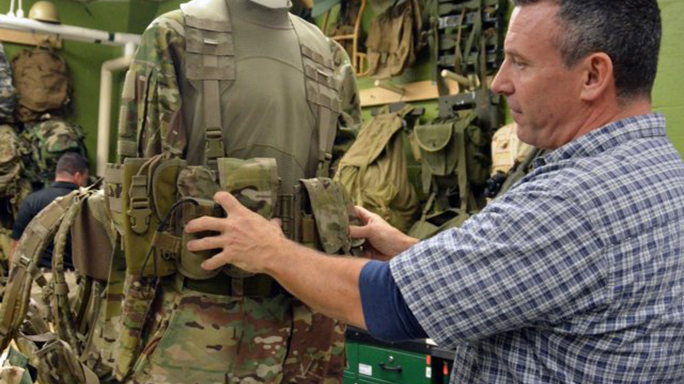 army paratroopers airborne tactical assault panel