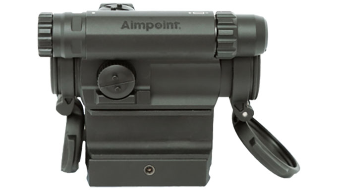Aimpoint CompM5 with spacer and mount profile