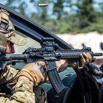 Aimpoint CompM5 firing
