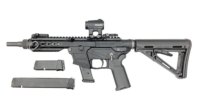 FightLite MXR bullpups and takedown rifles