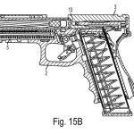 Glock 46 pistol drawing right profile