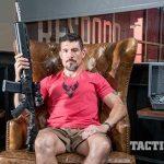 Kris Paronto sitting down