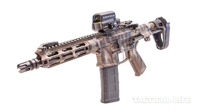 Modern Outfitters MC6 PDW rifle left angle