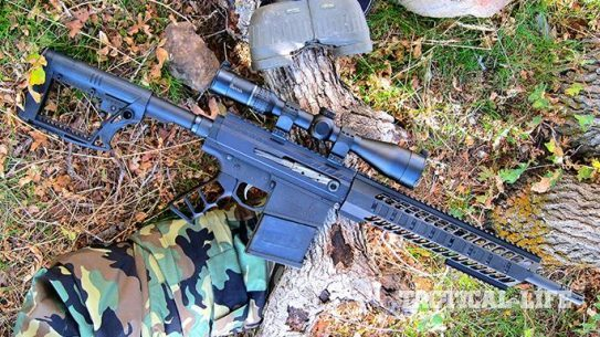 Noreen BN36 Assassin-X rifle right angle
