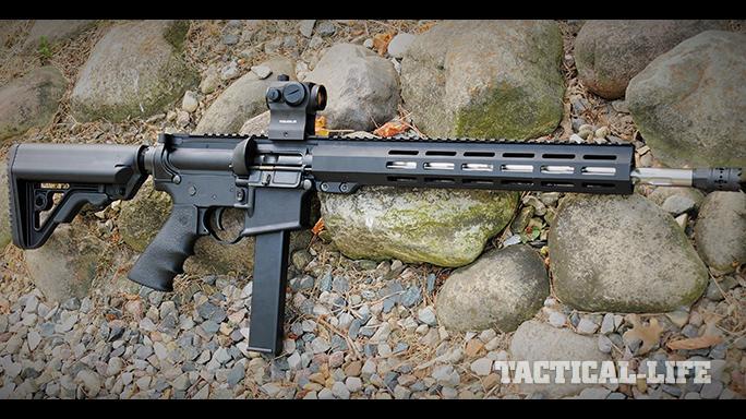 Rock River Arms LAR-9 R9 rifle right profile
