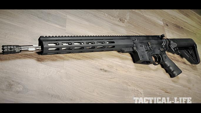 Rock River Arms LAR-9 R9 rifle left profile