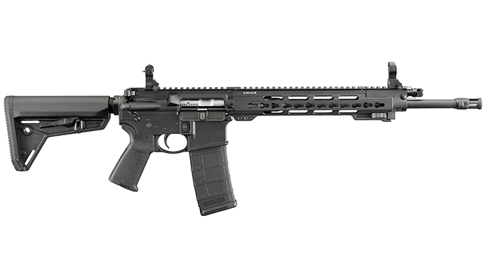 Ruger SR-556 Takedown bullpups and takedown rifles