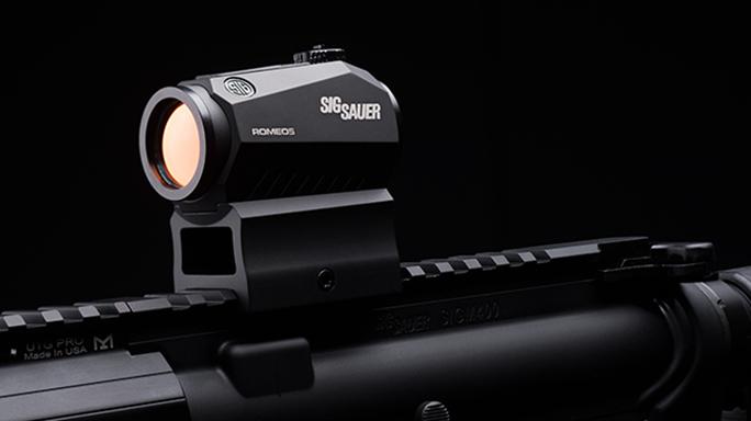 Sig Sauer's M400 Elite rifle sight