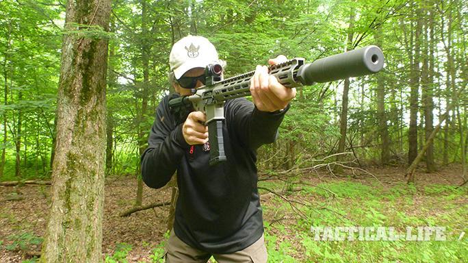 Sig Sauer's M400 Elite rifle range test