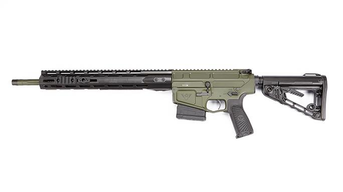 Wilson Combat Hunter Tactical rifle left profile