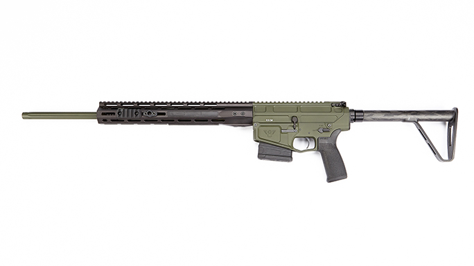 Wilson Combat Hunter Ultimate rifle left profile