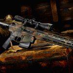 Wilson Combat Hunter Ultralight rifle right angle