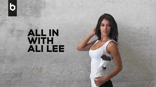 Ali Lee Ballistic magazine photo shoot
