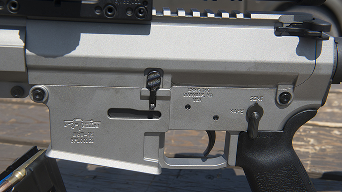CMMG MkW ANVIL Rifle 6.5 Grendel video controls