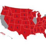 American Suppressor Association Hearing Protection Act Map